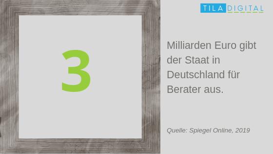 Beraterausgaben in Deutschland